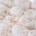 糖分の粉が柿全体を覆い出来上がり(12月中旬)