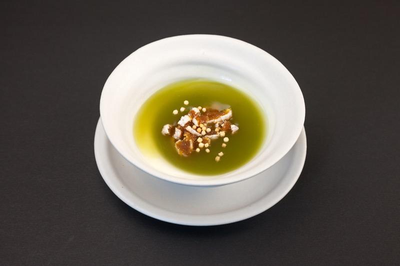 市田柿とくず湯