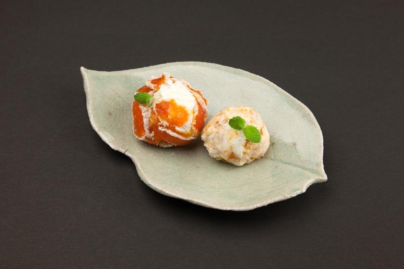 ヨーグルトと市田柿のお菓子