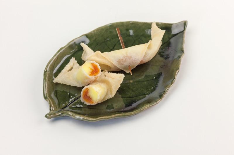 市田柿のフリット(チーズ)