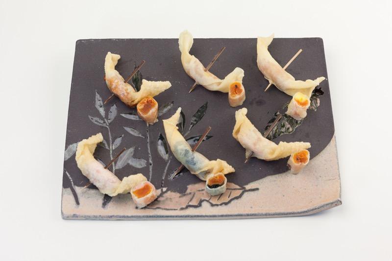 市田柿のフリット(7種盛り)